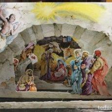 Coleccionismo Papel Varios: PESEBRE TROQUELADO, LLUIS BARGALLO. Lote 148234650