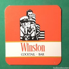 Coleccionismo Papel Varios: (C-A09) POSAVASO - WINSTON - COCKTAIL-BAR. Lote 148234906