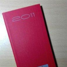 Coleccionismo Papel Varios: AGENDA 2011 - CC.OO. COMFIA - BANCO SINDICATO COMISIONES OBRERAS - 100GR. Lote 148247062