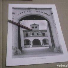 Coleccionismo Papel Varios: RECORTE LAMINA AÑOS 90 - SEVILLA , CORTIJO EL ALAMILLO - ISLA DE LA CARTUJA , AÑO 1991. Lote 148732142