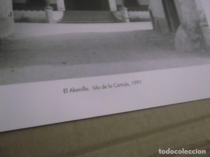 Coleccionismo Papel Varios: RECORTE LAMINA AÑOS 90 - SEVILLA , CORTIJO EL ALAMILLO - ISLA DE LA CARTUJA , AÑO 1991 - Foto 2 - 148732142