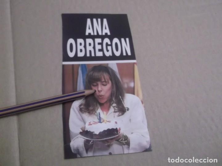 RECORTE PUBLICIDAD AÑOS 80/90 - ANA GARCIA OBREGON (Coleccionismo en Papel - Varios)