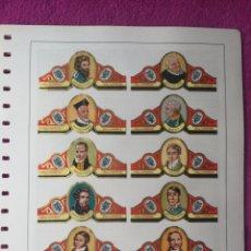 Coleccionismo Papel Varios: VITOLAS: LOTE DE 62 VITOLAS. Lote 149315730