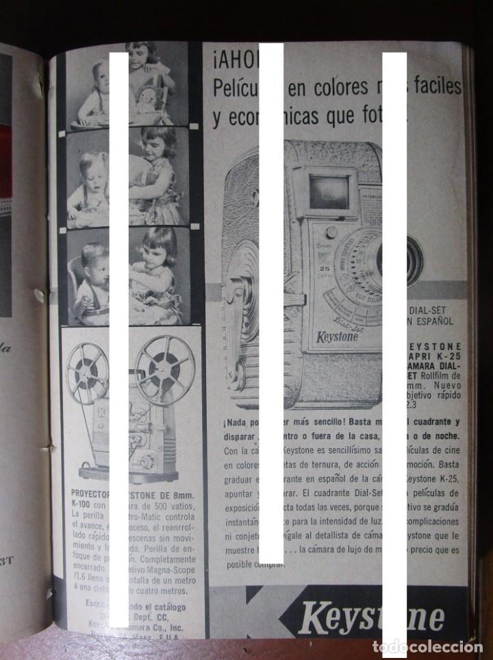 KEYSTONE CAMARA PELICULAS CINE K25 K-25 CAPRI RECORTE PUBLICIDAD VINTAGE  REVISTA ANTIGUA AÑO 1957