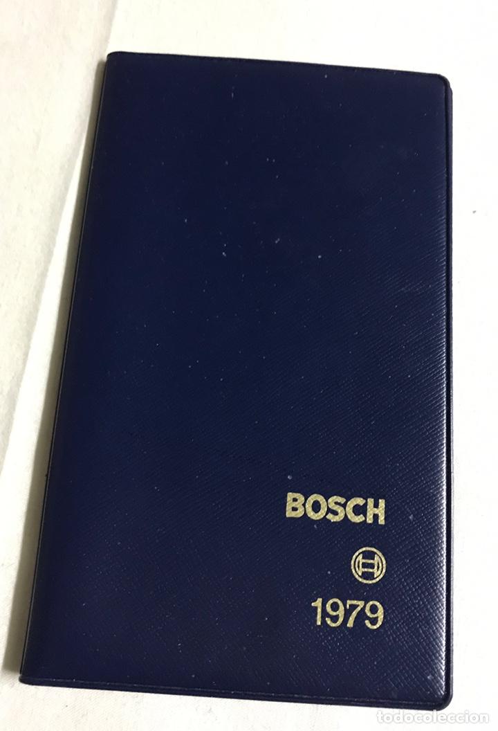 AGENDA LIBRETA DE BOSCH (Coleccionismo en Papel - Varios)