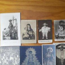 Collectionnisme Papier divers: LOTE DE ESTAMPAS FOTOGRÁFICAS RELIGIOSAS ANTIGUAS. Lote 149579850