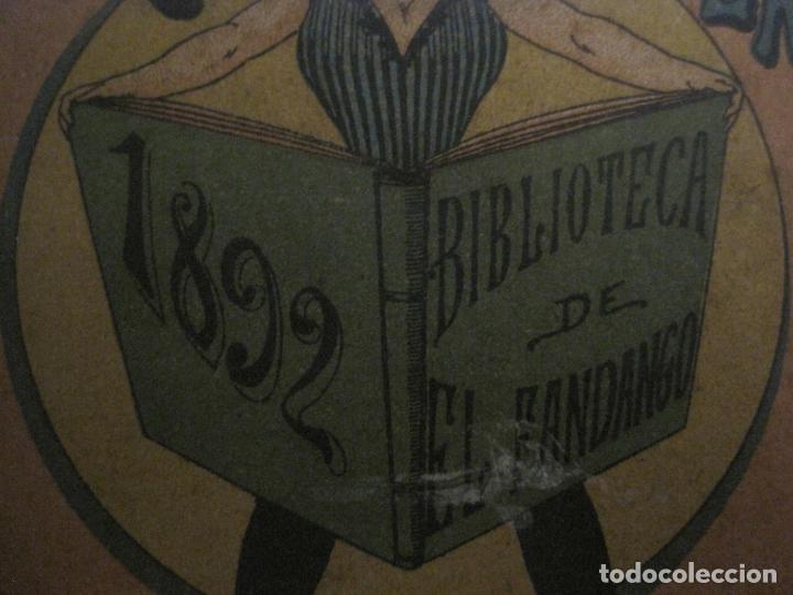 Coleccionismo Papel Varios: EL FANDANGO-ALMANAQUE 1892-VER FOTOS-(V-15.917) - Foto 2 - 150012302