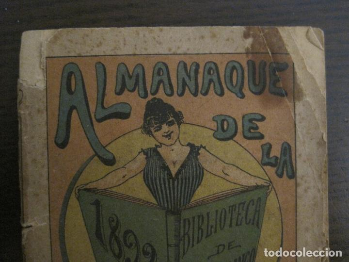 Coleccionismo Papel Varios: EL FANDANGO-ALMANAQUE 1892-VER FOTOS-(V-15.917) - Foto 3 - 150012302
