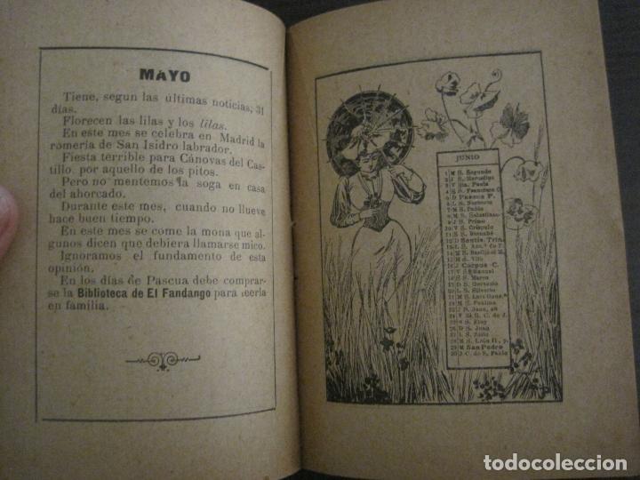 Coleccionismo Papel Varios: EL FANDANGO-ALMANAQUE 1892-VER FOTOS-(V-15.917) - Foto 8 - 150012302