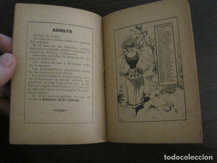 Coleccionismo Papel Varios: EL FANDANGO-ALMANAQUE 1892-VER FOTOS-(V-15.917) - Foto 9 - 150012302