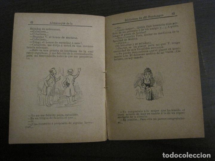 Coleccionismo Papel Varios: EL FANDANGO-ALMANAQUE 1892-VER FOTOS-(V-15.917) - Foto 13 - 150012302