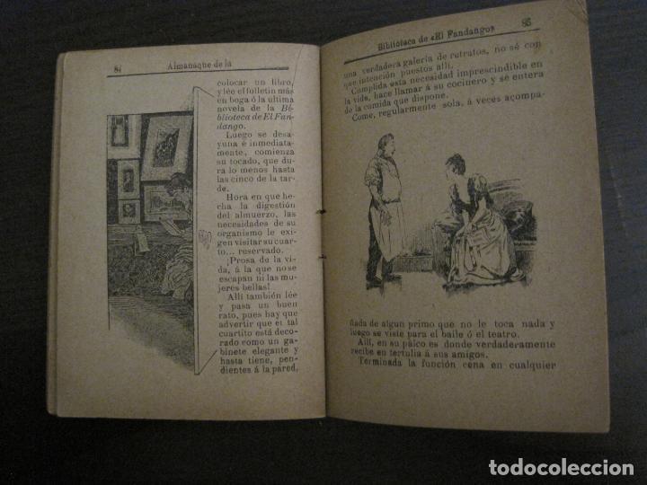 Coleccionismo Papel Varios: EL FANDANGO-ALMANAQUE 1892-VER FOTOS-(V-15.917) - Foto 16 - 150012302
