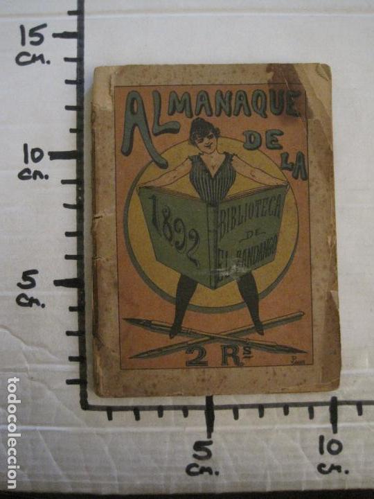 Coleccionismo Papel Varios: EL FANDANGO-ALMANAQUE 1892-VER FOTOS-(V-15.917) - Foto 19 - 150012302