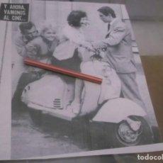 Coleccionismo Papel Varios: RECORTE PUBLICIDAD AÑO 1960 - MOTO VESPA . Lote 150369582