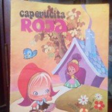 Coleccionismo Papel Varios: CUENTO CAPERUCITA ROJA EDITORIAL ROMA AÑOS 80. Lote 150690565