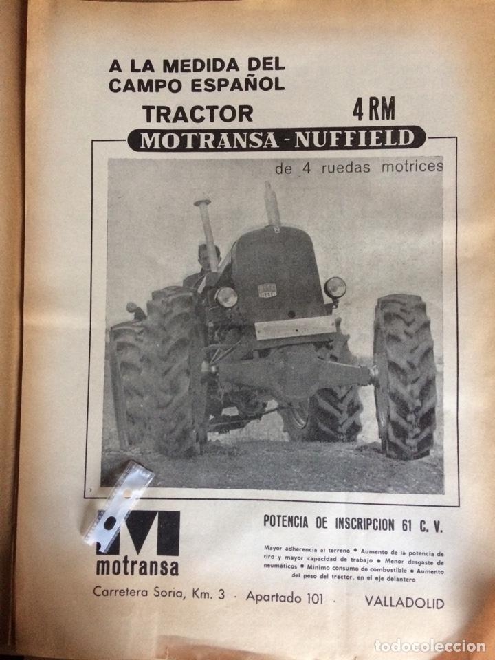 PUBLICIDAD TRACTORES MOTRANSA NUFFIELD DE 1970 (Coleccionismo en Papel - Varios)