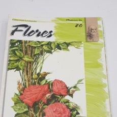 Coleccionismo Papel Varios - PINTEMOS Las flores 20. COLECCIÓN LEONARDO. VINCIANA EDITORA - tdkr62 - 150839782