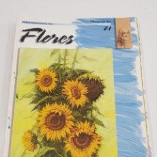 Coleccionismo Papel Varios - PINTEMOS Las flores 21. COLECCIÓN LEONARDO. VINCIANA EDITORA - tdkr62 - 150839810