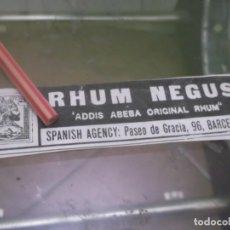 Coleccionismo Papel Varios: RECORTE PUBLICIDAD AÑO 1902 - RHUM NEGUS - BARCELONA . Lote 150953346