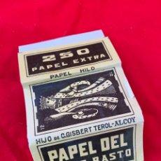 Coleccionismo Papel Varios: LIBRITO DE PAPEL DE FUMAR REY DE BASTOS. Lote 151074414