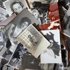 Coleccionismo Papel Varios: LOTE DE FOTOGRAFIAS ANTIGUAS DE MUJERES DE VARIAS EPOCAS. Lote 151469038