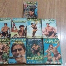 Coleccionismo Papel Varios: LOTE NOVELAS TARZAN. Lote 151588130