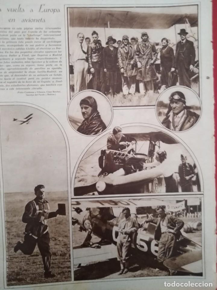 ARTICULO COMPLETO 1929 LA VUELTA A EUROPA EN AVIONETA ARCHIDUQUE ANTONIO REPRESENTA A ESPAÑA (Coleccionismo en Papel - Varios)