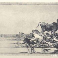 Coleccionismo Papel Varios: FRANCISCO DE GOYA, REPRODUCCIÓN DE LOS GRABADOS DE GOYA, TAUROMAQUIA DE GOYA. Lote 153383526