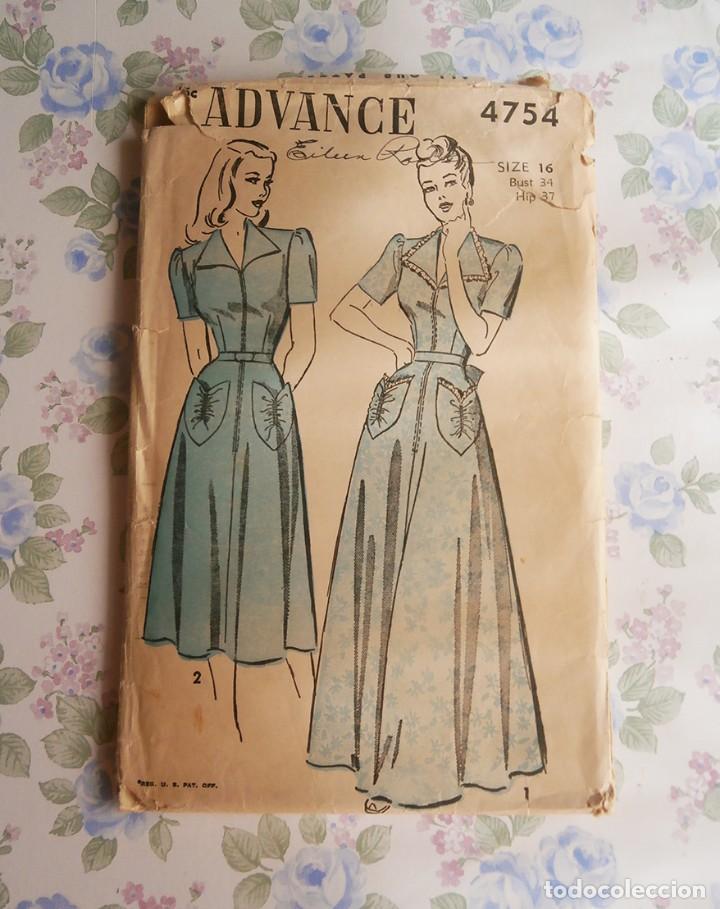 c6752fc44e patron mujer vintage patrones ropa epoca señora - Comprar en ...