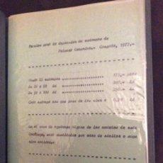 Coleccionismo Papel Varios: CATÁLOGO PARA VENTA DE RECORDATORIOS PRIMERA COMUNIÓN AÑO 1977 CON 36 RECORDATORIO . Lote 153858906
