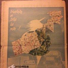 Coleccionismo Papel Varios: PUBLICIDAD CAMIÓN BARREIROS DE 1961. Lote 154187186