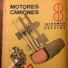 Coleccionismo Papel Varios: PUBLICIDAD CAMIÓN BARREIROS DE 1961. Lote 154187362