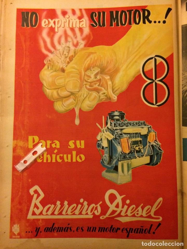 PUBLICIDAD CAMIÓN BARREIROS DE 1959 (Coleccionismo en Papel - Varios)