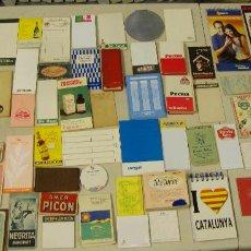 Coleccionismo Papel Varios: COLECCION DE 99 LIBRETAS PUBLICITARIAS CON PUBLICIDAD MUY DIFICIL. Lote 154271946