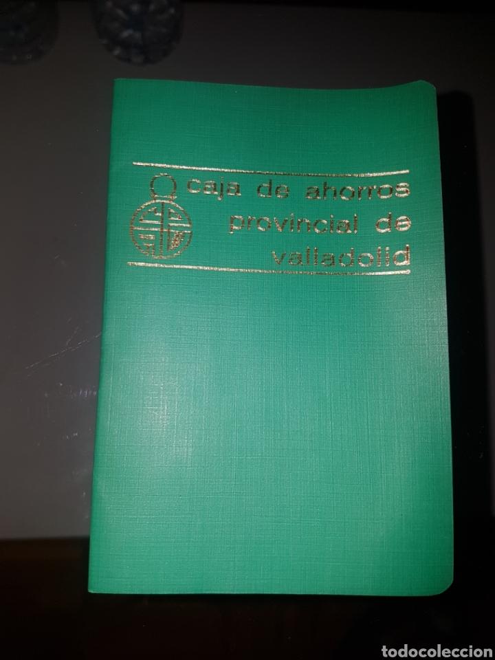 LIBRETA CAJA DE AHORROS PROVINCIAL DE VALLADOLID AÑOS 80 (Coleccionismo en Papel - Varios)