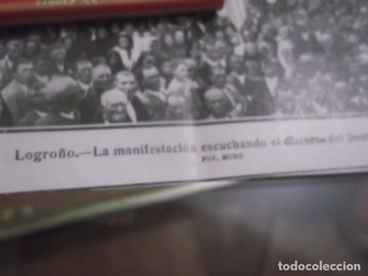 Coleccionismo Papel Varios: RECORTE AÑO 1920 - LOGROÑO , LA MANIFESTACIÓN ESCUCHANDO EL DISCURSO DEL DOCTORAL - Foto 2 - 155335470