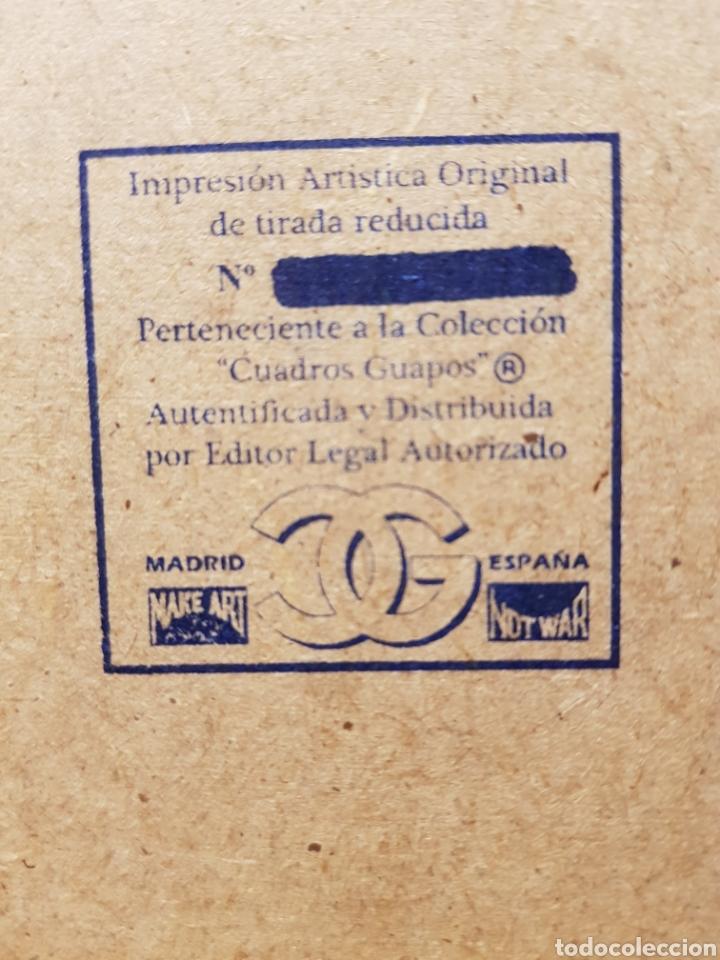 Coleccionismo Papel Varios: Volkswagen Escarabajo: Cuadro Pin Up Publicidad 1950s Vintage. - Foto 3 - 155377670