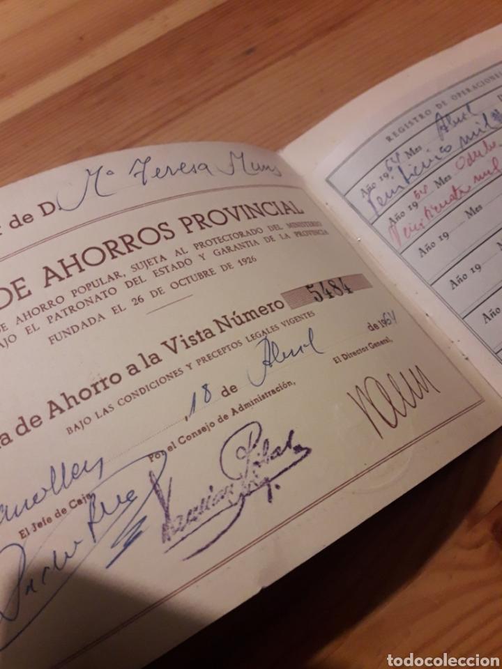 Coleccionismo Papel Varios: Libreta ahorro caja de ahorros provincial diputacion Barcelona - Foto 2 - 155424541