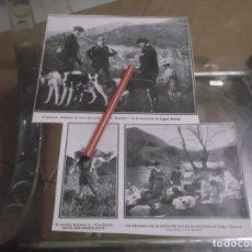 Coleccionismo Papel Varios: RECORTE AÑO 1930 - ANDUJAR (JAÉN) EL FAMOSO TORERO BOMBITA EN LA MONTERIA DE LUGAR NUEVO (ANDUJAR). Lote 155441774
