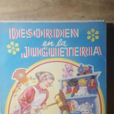 Outros artigos de papel: CUENTO DESORDEN EN LA JUGUETERIA, SERIE DELFIN, NUM. 3.- EDITORIAL ROMA.- 1960. Lote 155459410