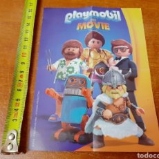 Coleccionismo Papel Varios: PÓSTER PLAYMOBIL THE MOVIE (17X12CM). Lote 155531974