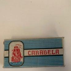 Coleccionismo Papel Varios: CAJA CARABELA COMPLETA PAPEL DE FUMAR ALCOY. Lote 155581445