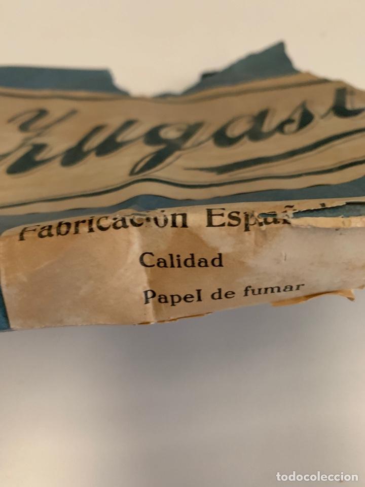 Coleccionismo Papel Varios: TAPA CAJA PAPEL DE FUMAR MARCA JUGASTI - Foto 2 - 155582545