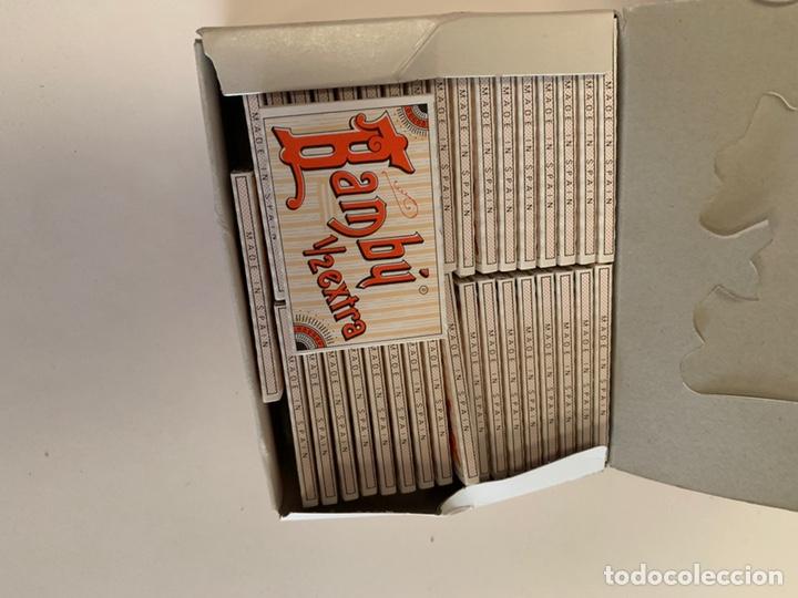 Coleccionismo Papel Varios: CAJA COMPLETA PAPEL DE FUMAR BAMBÚ 1/2 EXTRA - Foto 2 - 155588653