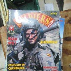 Coleccionismo Papel Varios: REVISTA SOLDIERS Nº47 AGOSTO 1999 L-1405-510. Lote 155657866