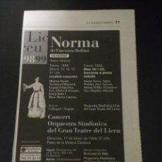 Coleccionismo Papel Varios: RECORTE «NORMA». Lote 155700262