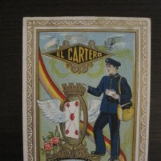 Coleccionismo Papel Varios: EL CARTERO-REPUBLICA-FELICITACION ANTIGUA-VER FOTOS-(57.816). Lote 155822666