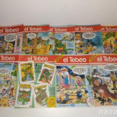 Coleccionismo Papel Varios: SUPLEMENTO DE PERIÓDICO EL TEBEO 9 REVISTAS 1990 1991. Lote 155888914
