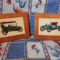 Coleccionismo Papel Varios: COCHES ANTIGUOS. VER FOTOS. . Lote 155891322