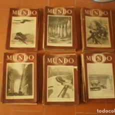 Coleccionismo Papel Varios: COLECCION DE 110 REVISTAS MUNDO. GUERRA MUNDIAL. AÑOS 40. OCASION!!!!!!!!. Lote 155906522